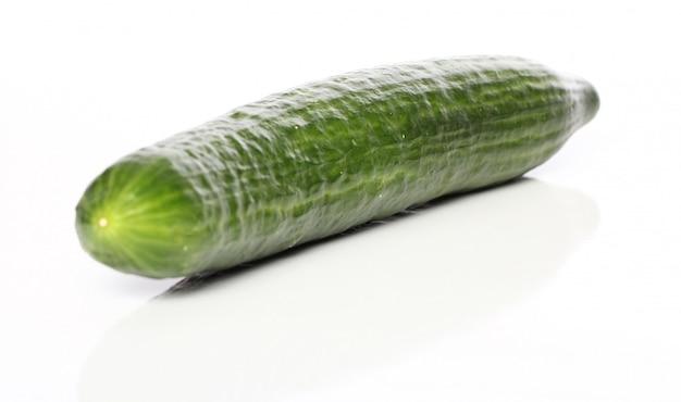 Frische grüne gurke