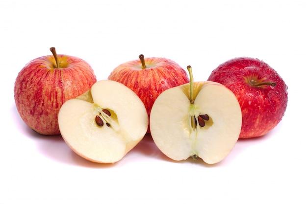 Frische königliche galaäpfel