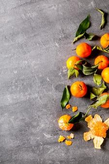 Frische leckere mandarine