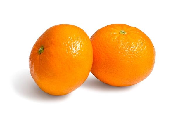Frische ökologische clementinen
