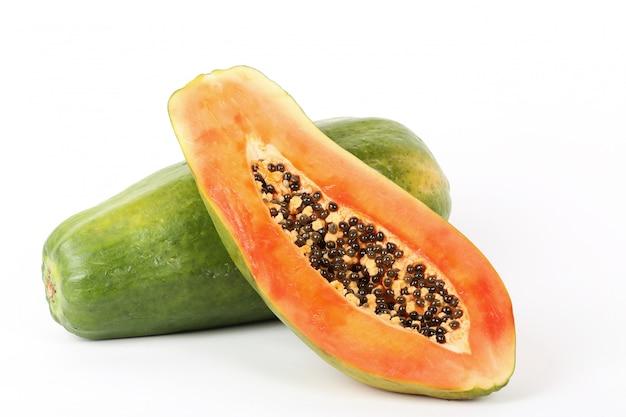 Frische papaya-frucht