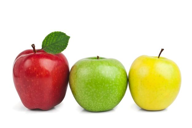 Frische reife äpfel