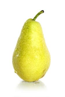 Frische und feuchte birnenfrucht