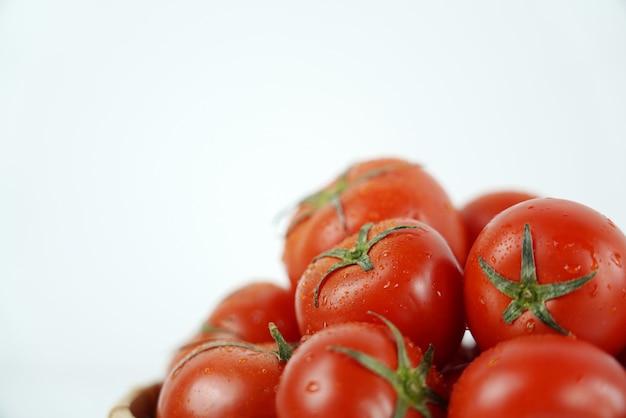Frische und nahrhafte tomaten