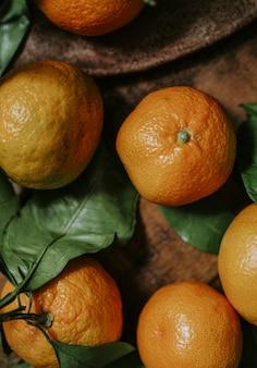 Frische und reife rangpur-frucht