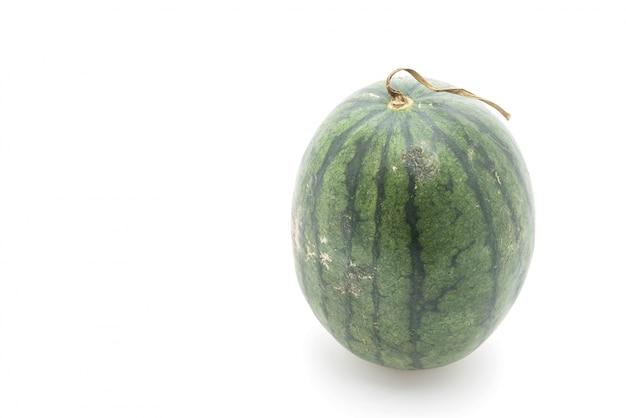 Frische wassermelone auf weiß
