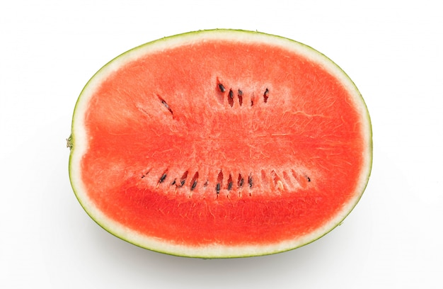 Frische wassermelone isoliert