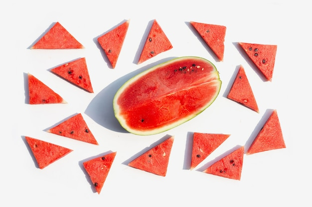 Frische wassermelone.
