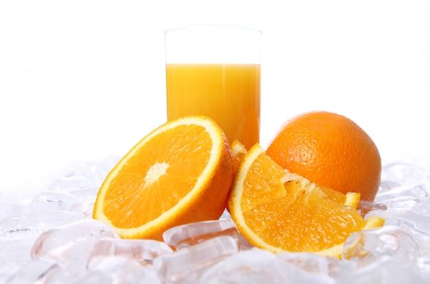 Frischer orangensaft