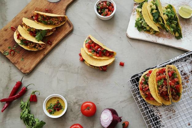 Frischer taco
