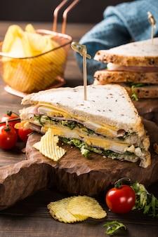 Frisches club sandwich