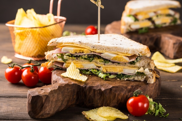 Frisches club sandwich