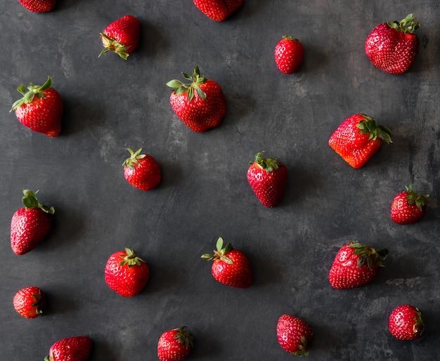 Frisches erdbeermuster