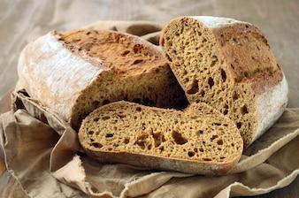 Frisches hausgemachtes Brot