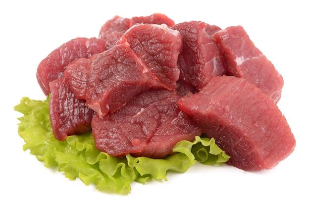Frisches kalbfleisch