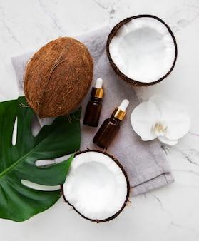 Frisches kokosöl