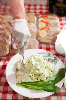 Frisches leckeres essen zum verkauf