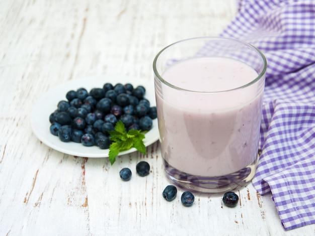 Frisches obst joghurt