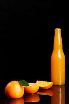 Frisches orangensaftgetränk