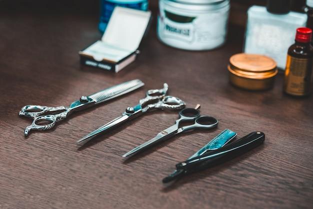 Friseursalon und friseursalon