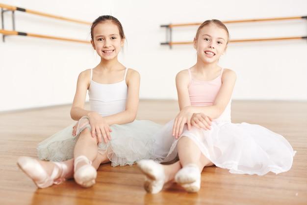 Fröhliche ballerinas
