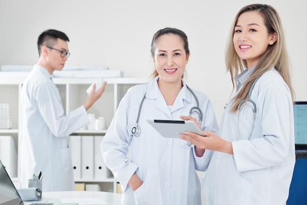 Fröhliche mediziner