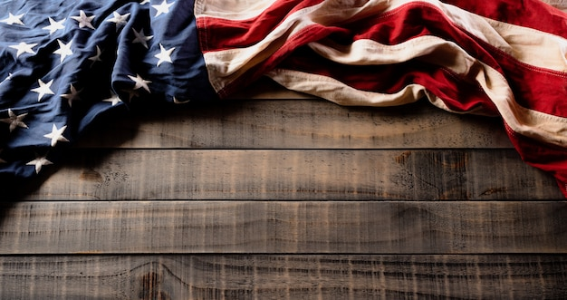 Fröhlichen unabhängigkeitstag. amerikanische flaggen, 4. juli.