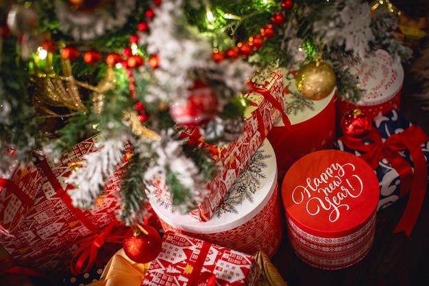 Frohe weihnachten dekorationen