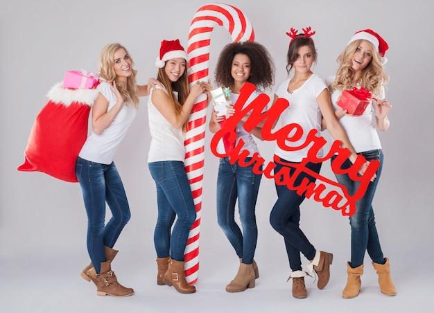 Frohe weihnachten für jede nation
