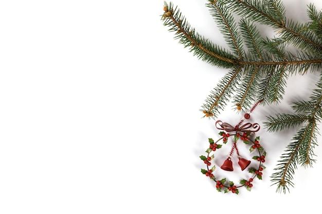 Frohe weihnachten-komposition