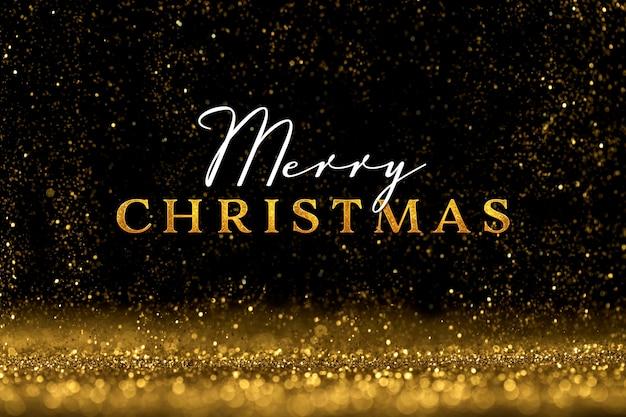 Frohe weihnachten-schriftzug auf festlichem hintergrund
