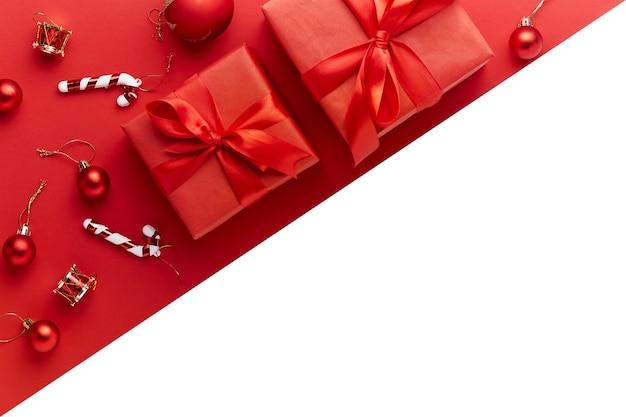 Frohe weihnachten und frohe feiertage grußkarte, rahmen, fahne