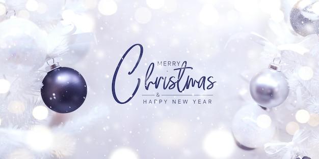 Frohe weihnachten und guten rutsch ins neue jahr-konzept