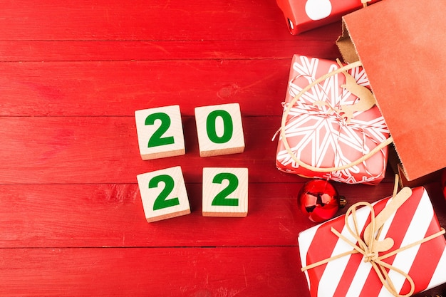 Frohes neues jahr 2022 weihnachten 2022