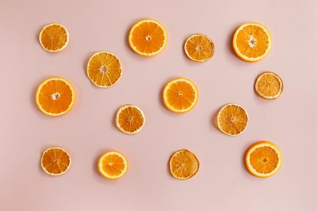 Fruchtchips aus orange