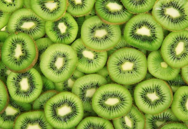 Fruchtkiwi-gesamthintergrund