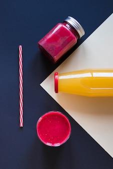 Früchte natürlicher smoothie