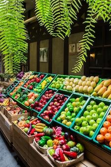 Früchte und vagetables in thailand