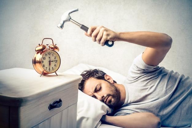 Früh morgens aufwachen