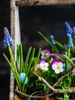 Frühling blumenkonzept