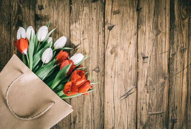 Frühlingsblumen tulpe