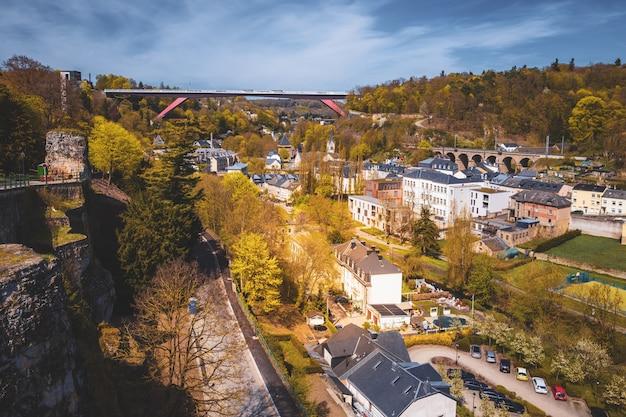 Frühlingssaison in luxemburg