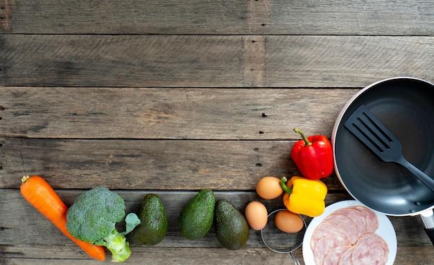 Frühstück mit avocado gewichtsverlust diät das holz