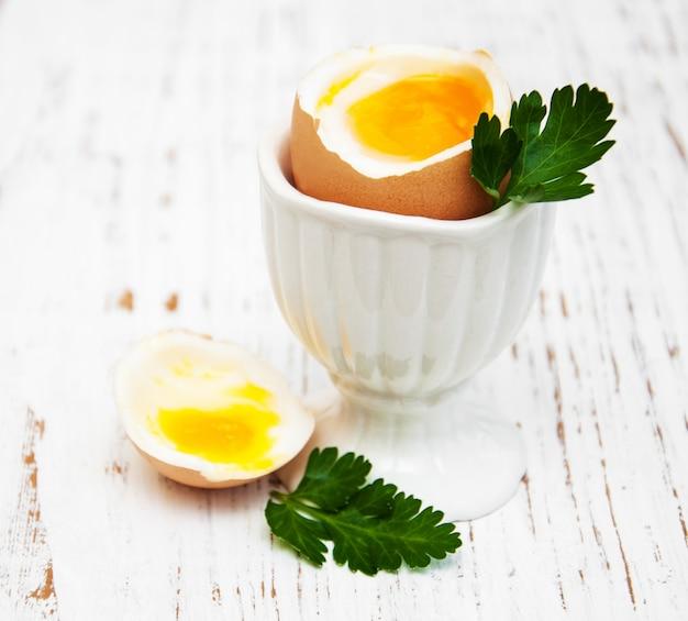 Frühstück mit eiern
