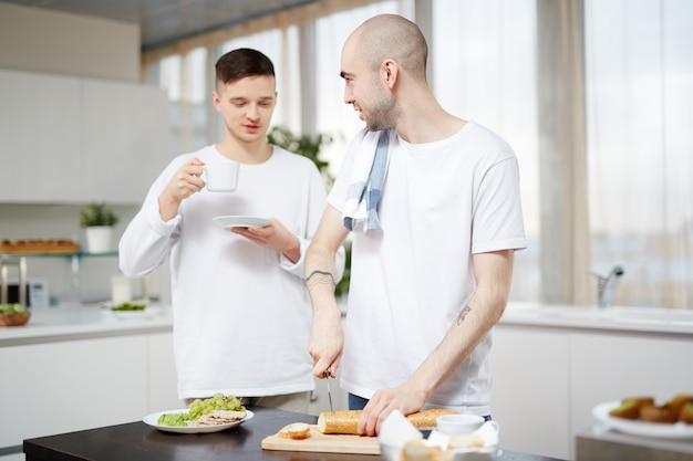 Frühstück vorbereiten