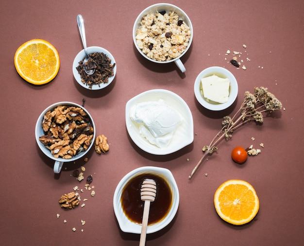 Frühstückszusammensetzung