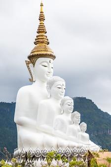 Fünf buddhas