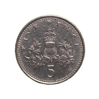Fünf-pence-münze