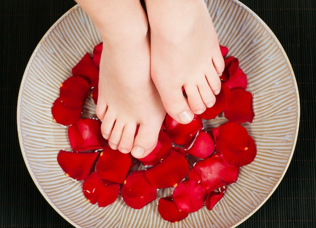 Füße wellness
