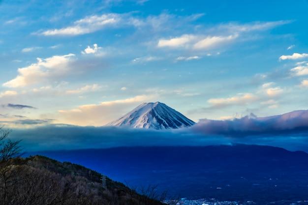 Fujisan sonnenaufgang